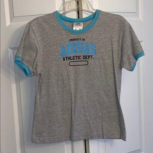 Women's size M Adidas ringer t-shirt!